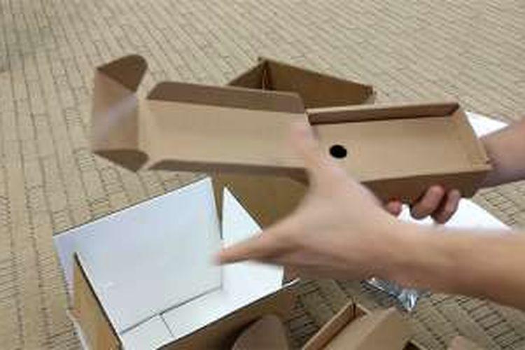 Kotak khusus untuk mengirimkan Galaxy Note 7 yang rawan terbakar.