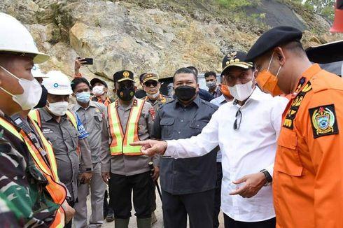 Gubernur Sumut Tinjau Lokasi Longsor PLTA Batang Toru, Berharap Semua Korban Dapat Ditemukan