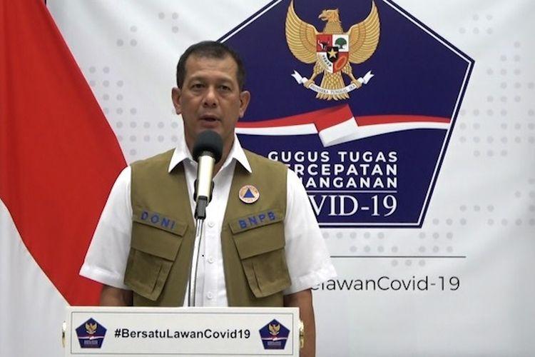 Ketua Gugus Tugas Percepatan Penanganan Covid-19 Doni Monardo