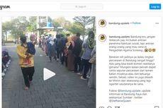 Viral, Video Antrean Orang Mau Cerai di Pengadilan Agama Bandung