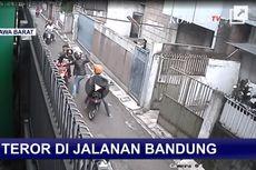 Viral Video Aksi Pembacokan Brutal di Bandung, 1 Orang Terluka