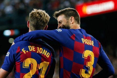 Barcelona Vs Villarreal, Pique Sebut Laga Pramusim Tak Membantu