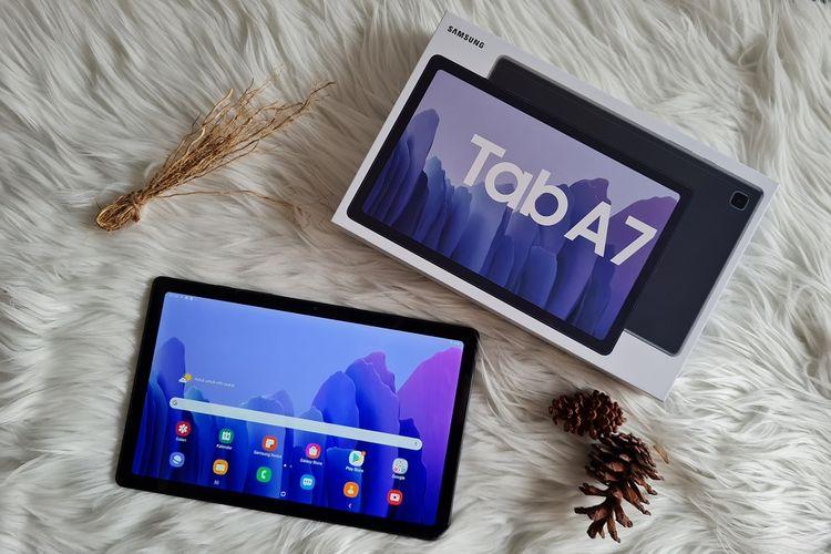 Tablet Galaxy Tab A7.