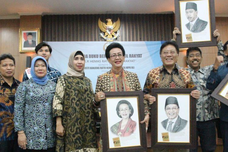 GKR Hemas saat acara Bicara Buku bersama wakil rakyat di Gedung DPD Provinsi D.I. Yogyakarta.