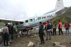 Pesawat Dimonim Tergelincir di Puncak Jaya, Ada Suara Letusan Terdengar