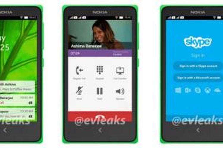 Bocoran perangkat ponsel Android Nokia