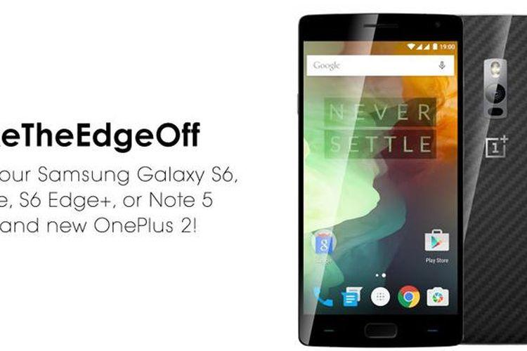 Program penukaran smartphone Samsung dengan OnePlus 2 untuk amal.