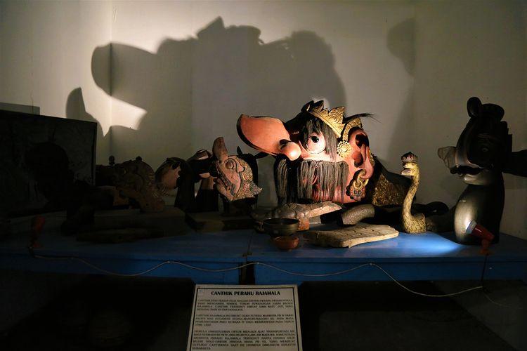 Canthik Rajamala koleksi di Museum Karaton Surakarta