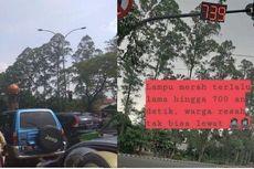 Viral, Lampu Merah di Cikokol Tangerang hingga 700 Detik