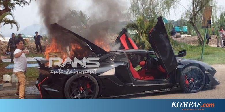 Cerita di Balik Terbakarnya Lamborghini Aventador