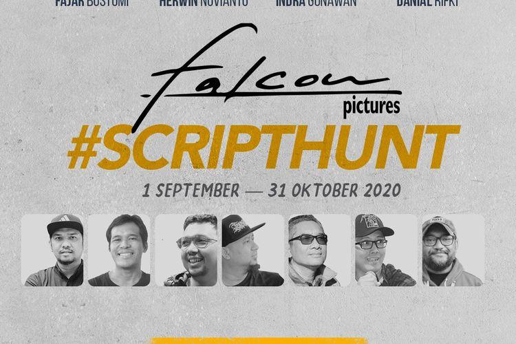 Lomba script hunt hasil kerja sama Falcon Pictures dan Kwikku.com