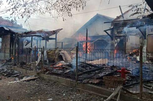 Hidran Tak Berfungsi, Pasar Srogo Brangsong Kendal Habis Terbakar