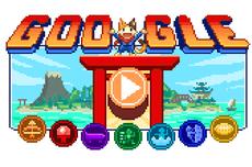 Google Doodle Sambut Olimpiade Tokyo dengan Game Pulau Juara