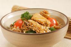 Resep Nasi Gurih Sapo Ayam Tomat, Bekal Kantor Bergizi