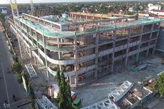 UPDATE: Konstruksi Pasar Legi Capai 50 Persen