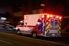 Ambulans Pengantar Pasien Covid-19 Tabrakan dengan Truk Fuso, Sopir dan Bidan Luka Parah