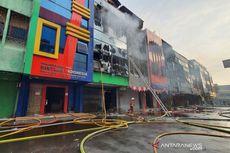 4 Ruko di Kompleks Maya Belakang Grand Theater Senen Ikut Terbakar