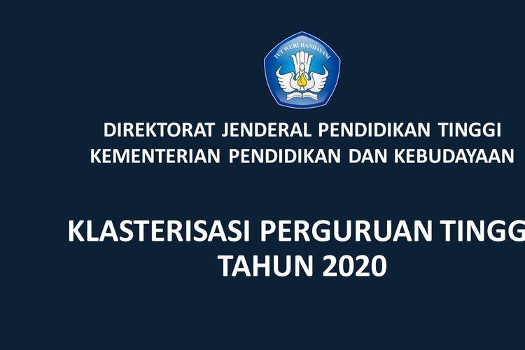 Klasterisasi Perguruan Tinggi 2020