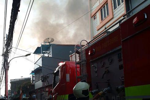 Kebakaran di Jembatan Besi, Ratusan Rumah Dilalap Api Pagi Tadi