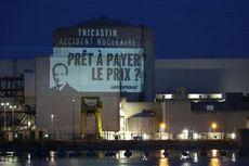 Aktivis Greenpeace Terobos Reaktor Nuklir Perancis