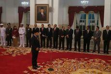 Presiden Jokowi Lantik Aan Kurnia Jadi Kepala Bakamla