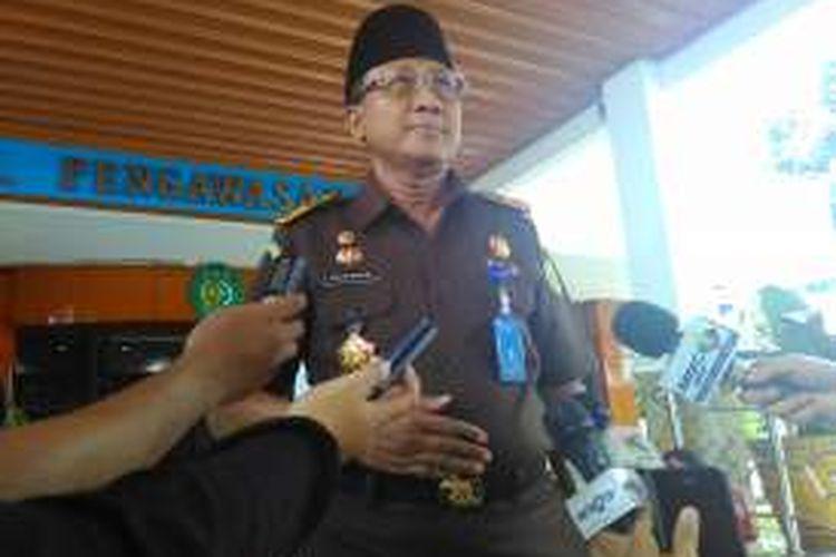 Jaksa Agung Muda Pengawasan Widyo Pramono di Kompleks Kejaksaan Agung, Rabu (6/4/2016).