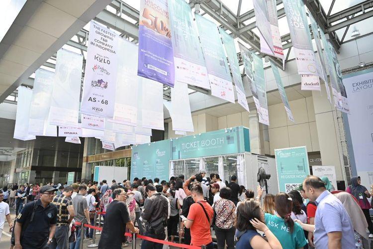Acara Pameran dan Konferensi Waralaba, International Franchise, License & Business Concept Expo & Conference (IFRA) Jumat, (5/7/2019) di JCC Senayan, Jakarta