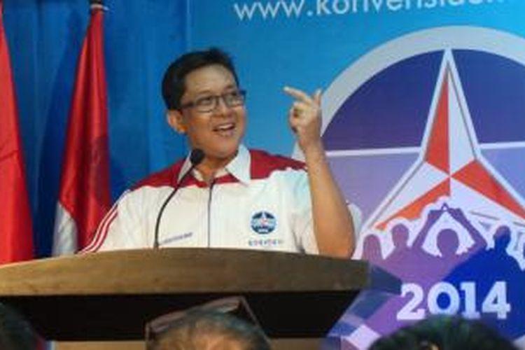 Kandidat Konvensi Calon Presiden Partai Demokrat Ali Masykur Musa