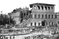 Kisah Perang Anglo-Zanzibar: Baru 2 Menit Sultan Kabur, Istana Hancur, 38 Menit Selesai