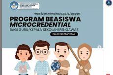 Kemendikbud Ristek Buka Beasiswa Microcredential 2021 bagi Guru