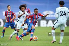 Crystal Palace Vs Chelsea, Willian Gemilang, The Blues Unggul di Babak Pertama