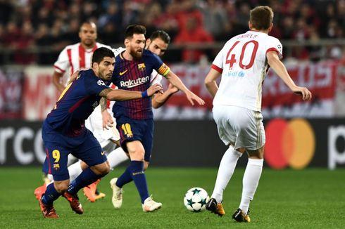 Hasil Liga Champions Grup D, Barcelona dan Juventus Tertahan