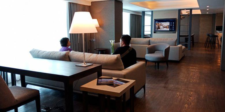 Presidential Suite di Yogyakarta Marriott Hotel, yang di klaim terluas dengan fasilitas paling lengkap dan modern di Yogyakarta.