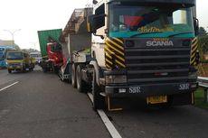 Macet Usai Kecelakaan Truk, Contra Flow Diberlakukan di Km 13 Tol Jagorawi Arah Jakarta