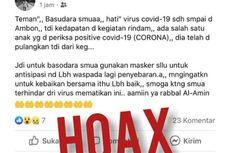 Polri: Penyebar Hoaks Corona Bisa Kena UU ITE, Terancam 6 Tahun Penjara