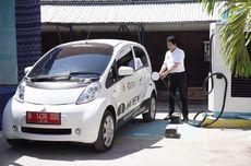 Mobil Listrik Mitsubishi Diuji di Sumba, Isi Listrik Pakai Tenaga Surya