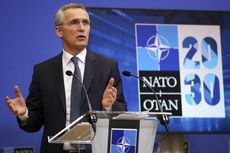 NATO Minta Rusia Hentikan Eskalasi Militer di Ukraina untuk Cegah Konflik Meluas