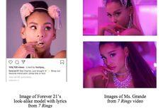 Ariana Grande Gugat Forever 21 karena Dugaan Pelanggaran Hak CIpta