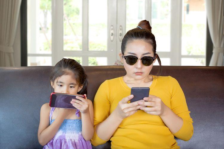 ibu milenial lebih melek digital