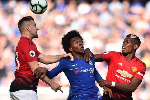 Chelsea Vs Man United, Rekor Apik The Blues di Stamford Bridge