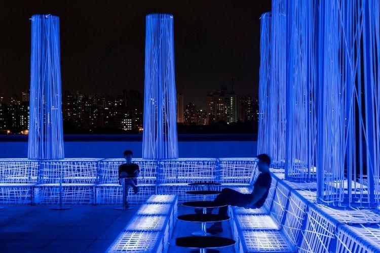 NYX Rooftop Bar Shanghai