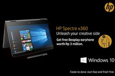 HP Spectre x360, Laptop 2-in-1 dengan Layar 4K