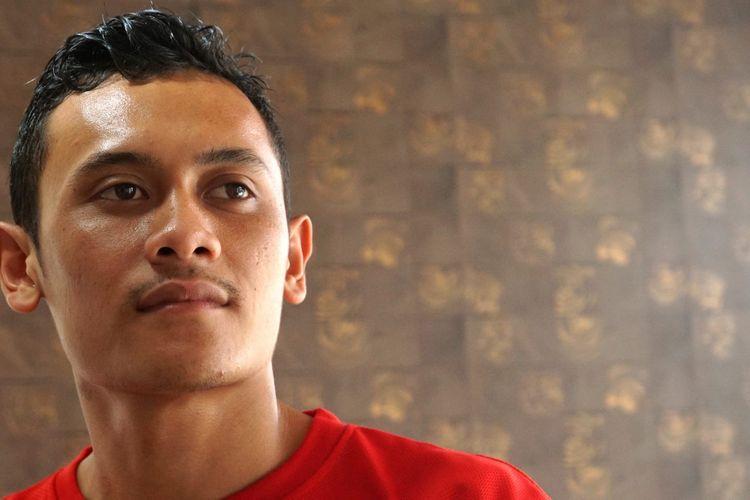 Atlet panjat tebing Indonesia, Veddriq Leonardo.