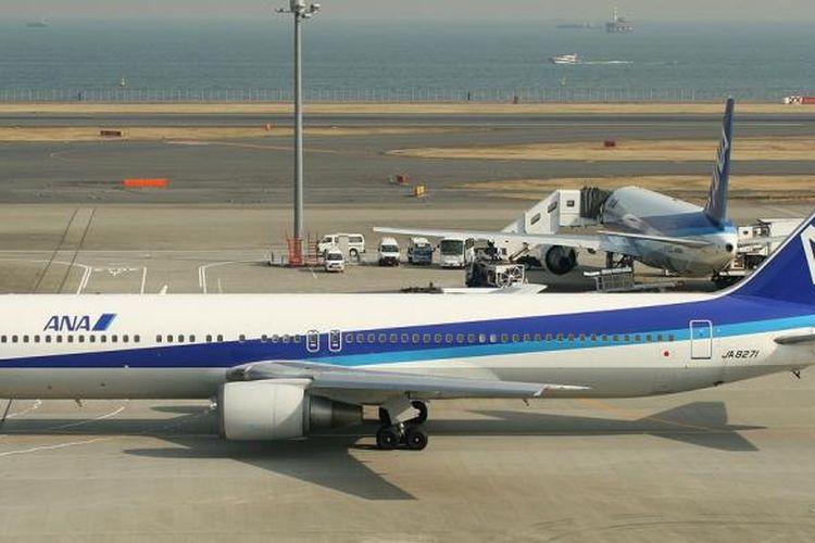 Foto ilustrasi Boeing 767-300 All Nippon Airways