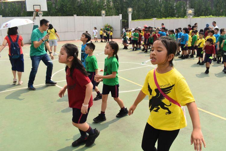 Peringatan Kemerdekaan RI di Jakarta Nanyang School, BSD, Tangerang Selatan (16/8/2018)