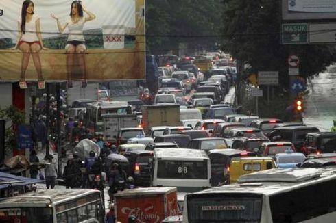 Jakarta Nomor 18 Kota Paling Stres di Dunia