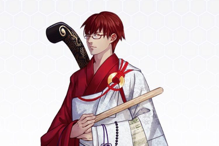 Indonesia yang digambarkan dalam karakter samurai oleh para seniman di Jepang dalam meramaikan Olimpiade Tokyo.