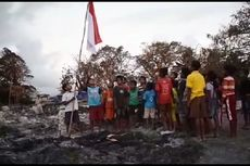 Cerita Relawan Rayakan Kemerdekaan Bersama Anak-anak Pengungsi Kebakaran Kampung Deke