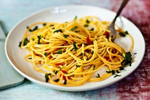 Resep Spaghetti Aglio e Olio, Sarapan Murah ala Italia
