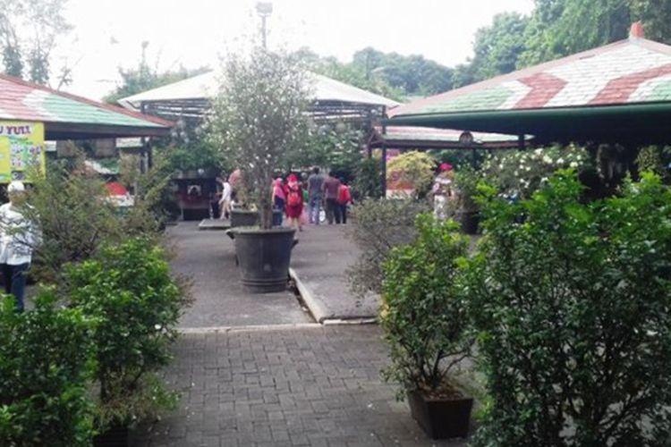 Taman Ade Irma Suryani alias Taman Topi di Bogor, Jawa Barat.